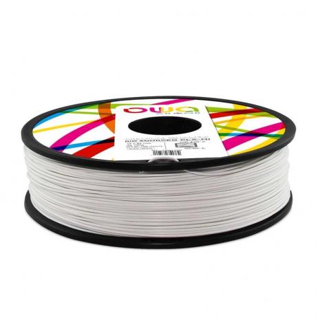 Filament PLA recyclé OWA blanc 2.85mm