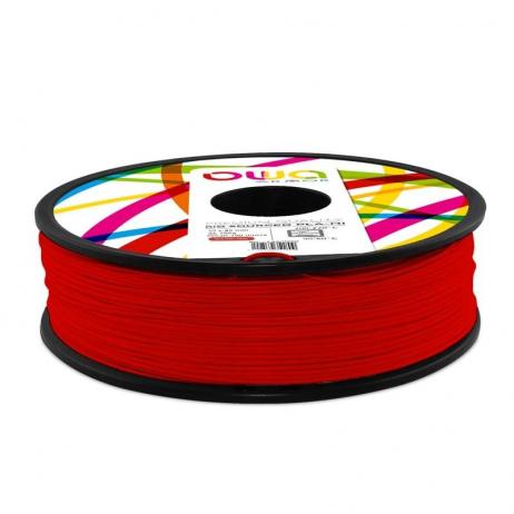 Filament PLA recyclé OWA rouge 2.85mm