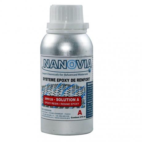 Nanovia reinforcing resin