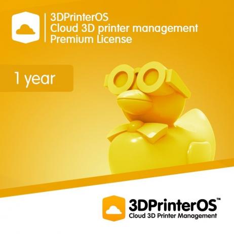 3DPrinterOS: Premium Licence