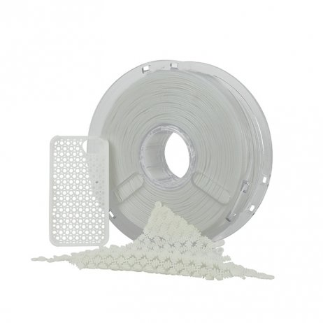 Polymaker Flexible Blanc PolyFlex 1.75mm