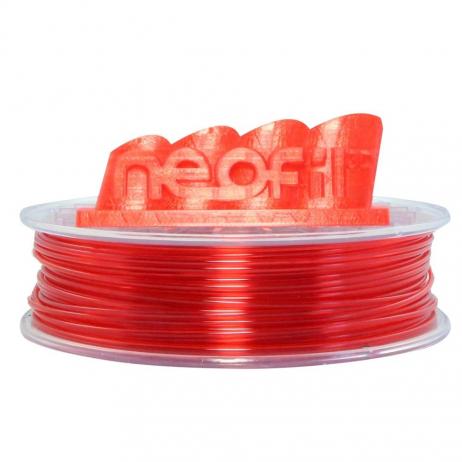 PET-G Rouge transparent Neofil3D