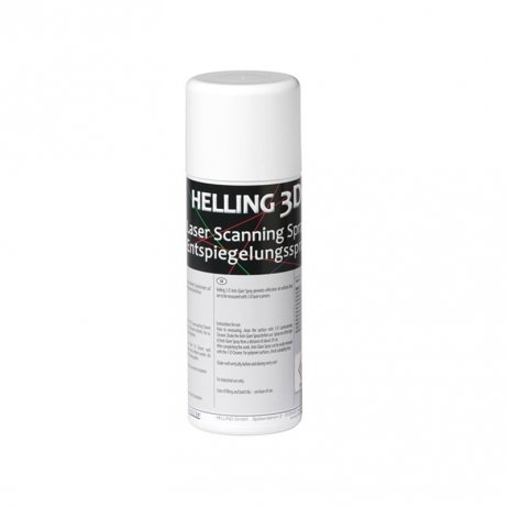 Spray matifiant pour scan 3D Helling