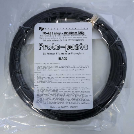 Polycarbonate ABS Noir 1.75mm
