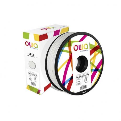 Filament PS recyclé OWA blanc