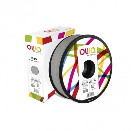 Filament PS recyclé gris OWA