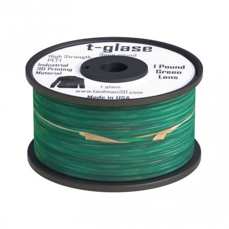 Taulman 3D T-Glase Green PET 1.75mm