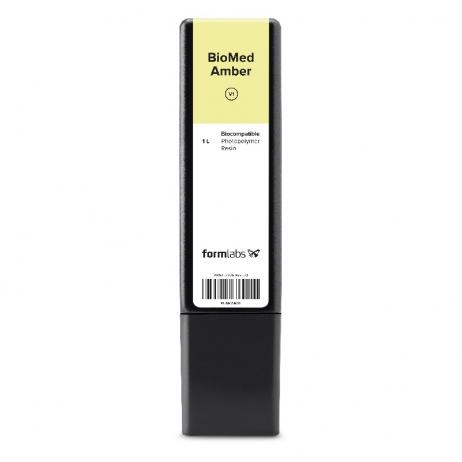 Cartouche résine SLA Formlabs BioMed Amber