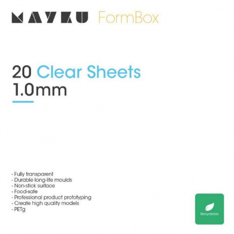 Feuilles Mayku Clear 1mm (x20)