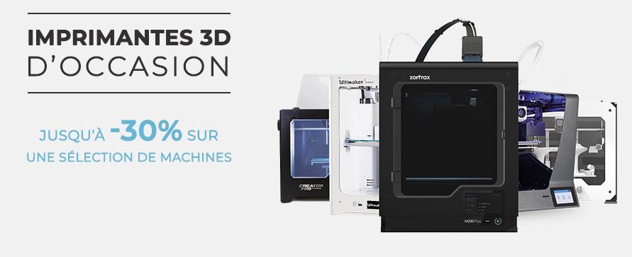 Imprimantes 3D occasion